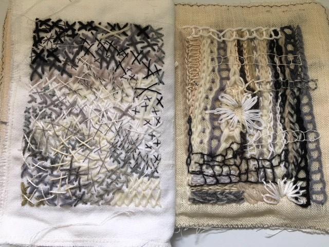 stitch samples